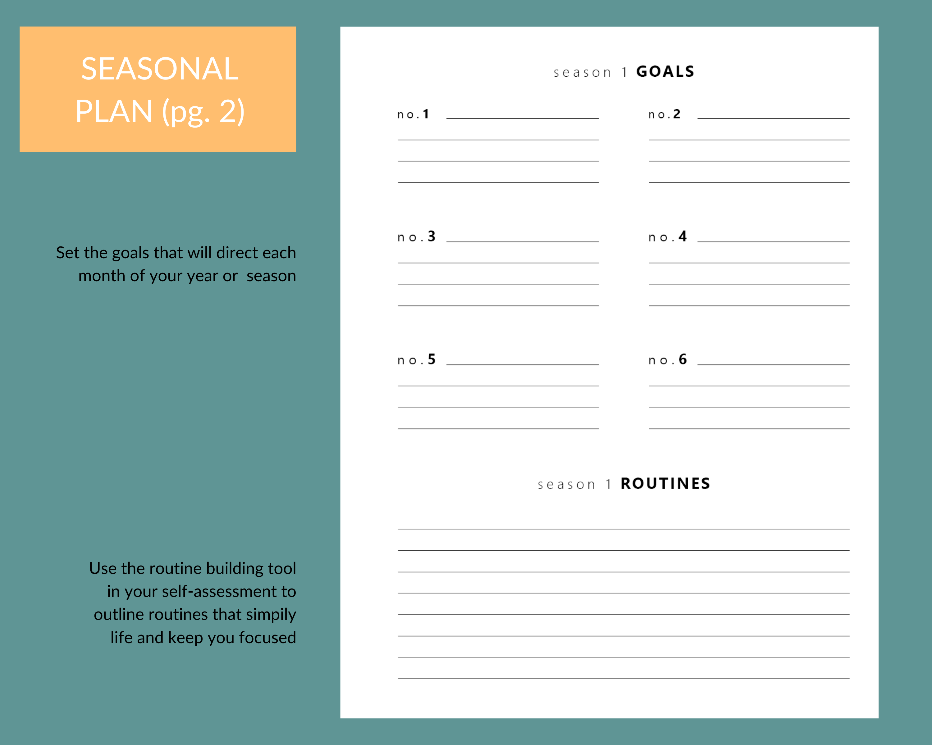 goal setting tool for Christian women